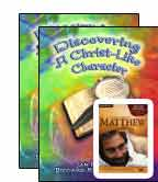 (Christian School) Discovering A Christlike Character (8th Grade) 3 pc BUNDLE
