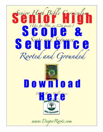 Christian School Senior High SCOPE & SEQUENCE Free Download